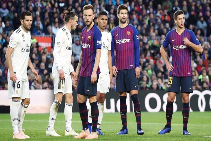مباشر كلاسيكو الأرض.. برشلونة 0-0 ريال مدريد.. ضغط مدريدي