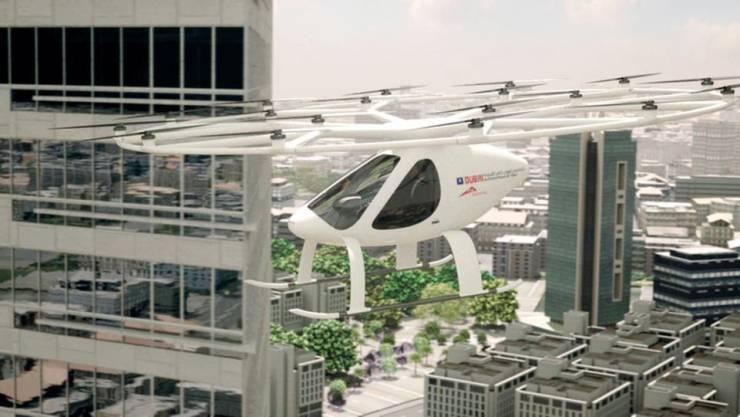 دبي تعلن موعد بدء خدمة تاكسي دبي الجوي