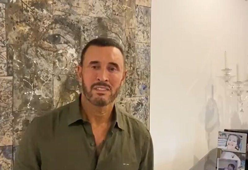 """الفنان العراقي كاظم الساهر الملقب بالقيصر"""" يوجه رسالة إلى الشعب اللبناني"""
